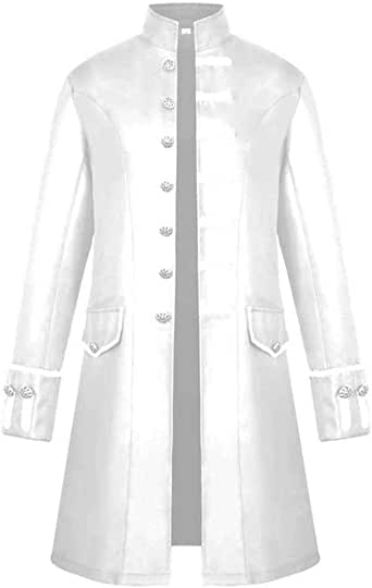 Cardigan Hommes Hiver Chaud Vintage Tailcoat Veste Manteau Outwear Veste Réfléchissante