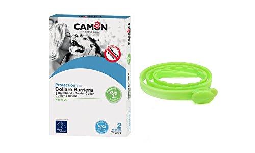 CamOn Fußstapfen natürlichen Halsband Barriere Neem-Öl für Hunde 75cm