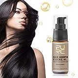 Fluide pour la croissance des cheveux, plus efficace Extrait naturel à 100% d'huile de sérum pour la croissance des cheveux d'Asie (20 ml/bouteille, multicolore)