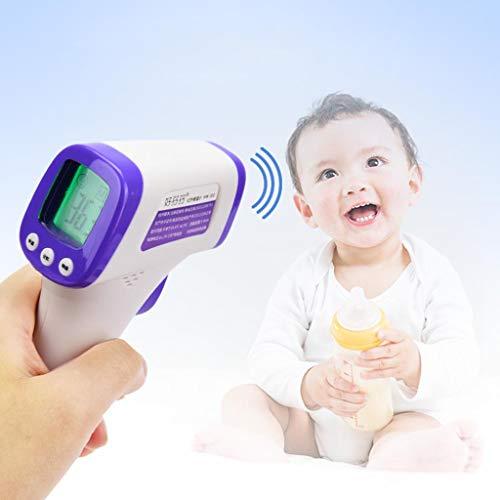 Kaliove Digital Termómetro De La Frente, La Frente del Bebé Termómetros con El Oído Función Digital...