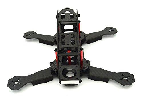 LHI FPV Mini Robocat Karbon 270 4-AchseQuadrokopter Rennkopter rennen Kit ARF+ CC3D Flugcontroller + MT2204 2300KV Motor + Simonk 12A ESC + 6030 CF Propeller Prop - 3