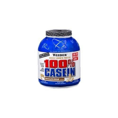 Weider Nutrition 100 Percent Casein Red Berry Cream Powder 1800g by Weider