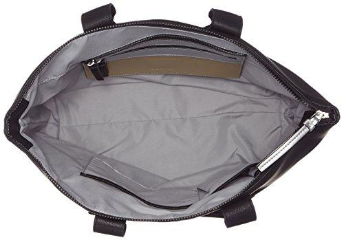 Calvin Klein Charly Large Bolsa a mano 36 cm Nero (Black)