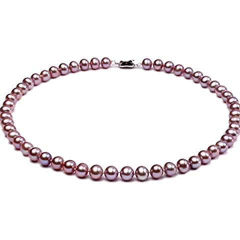jyx AAA 8–9mm collana di perle d'