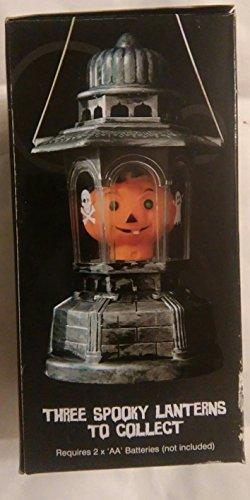 Halloween-Laterne Beleuchtung Kürbis-Scary Skeleton oder gruselige Kids Party Deko Tisch oder auch zum Aufhängen leuchtet im Dunkeln, (Pumpkin Halloween Scary)