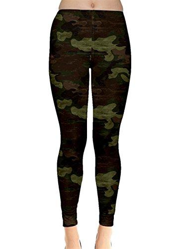 CowCow - Legging - Femme Vert Vert clair Vert - Vert clair