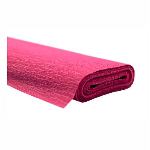 Creleo 791464 Papel pinocho, 10 rollos, 50 x 250 cm, color rosa, resistente al agua