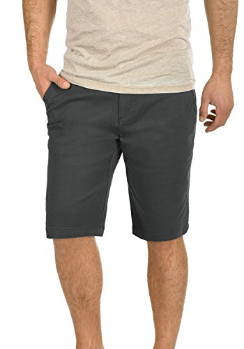 !Solid Lamego Herren Chino Shorts Bermuda Kurze Hose Aus Stretch-Material Regular Fit, Größe:3XL, Farbe:Dark Grey (2890)