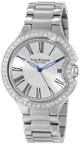 isaac-mizrahi-damen-imn64s-crystal-case-steel-polished-brushed-link-bracelet-armbanduhr