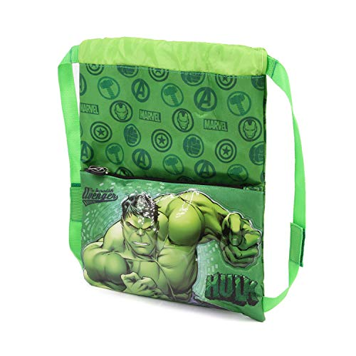 Karactermania Hulk Rage - Bolsa de Cuerdas, 41 cm, Verde
