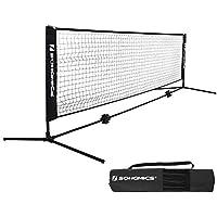 Federballnetz mit St/änder und Tragetasche Badmintonnetz Outdoor Garten Badminton Netz 3 Meter Faltbar