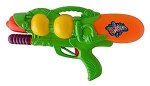 Idena 40301-Pistola de Agua con función Pump, Verde, Aprox. 37cm