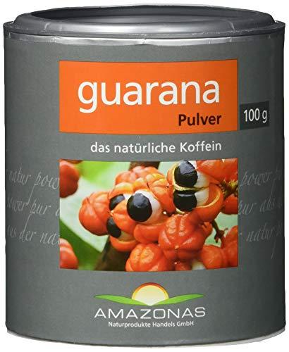Amazonas Naturprodukte • Guarana Pulver aus Wildwuchs • 100gschonend getrocknet • Rohkostqualität • 100% naturbelassen • Hochwertiges Superfood aus dem Amazonasgebiet • Direkt vom Importeur