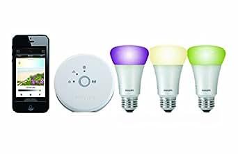 Philips Hue Personal Wireless Lighting Starter Kit 3 X