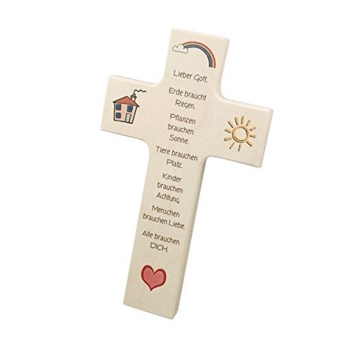 Kinderkreuz 'Lieber Gott...'