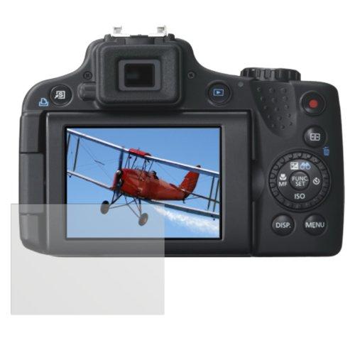 dipos I 6X Schutzfolie matt passend für Canon Powershot SX 50 Folie Displayschutzfolie
