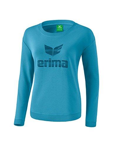 Erima Damen Essential Sweatshirt Niagara/Ink Blue 36 Preisvergleich