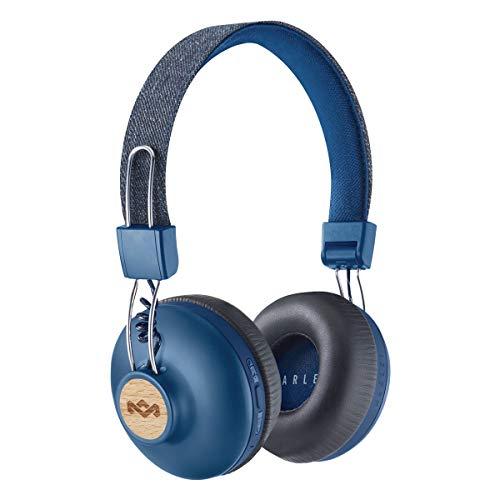 Foto House of Marley Positive Vibration 2 Cuffie Bluetooth Wireless con Microfono,...