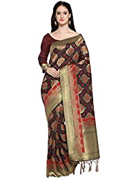 Bhelpuri Kanjeevaram Silk Woven Tassel Work Saree