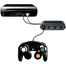 HITSAN Gamecube Controller Adapter Converter For Wii U Super Smash Bros Normal Quality One Piece