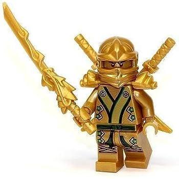 LEGO Ninjago - The GOLD Ninja - No Original Packaging: Amazon.co.uk ...