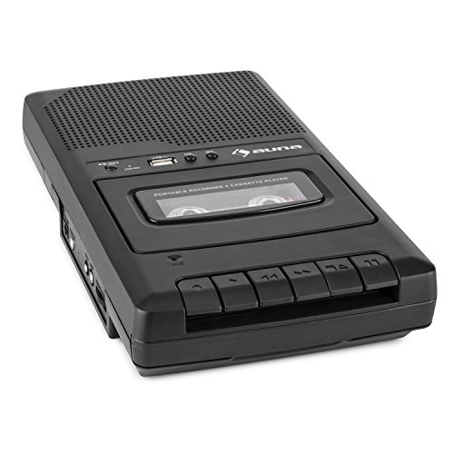 auna-rq-132usb-portable-cassette-recorder-with-both-voice-recorder-and-tape-recorder-options-micro