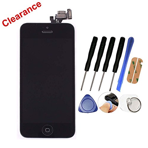 lcd-worldr-new-lcd-touch-screen-replacement-for-iphone-5-full-set-digitizer-with-home-buttonbracketf