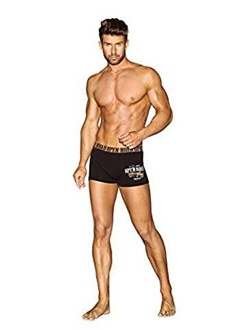 Henderson Warp 32454 Men's Boxer Shorts - Black - XX-Large