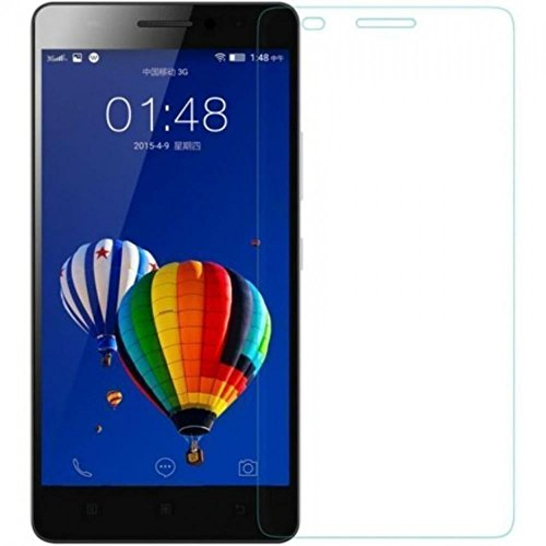 SNOOGG Lenovo A5000 (Black) Toughened Tempered Glass Screen Guard Protector  available at amazon for Rs.99