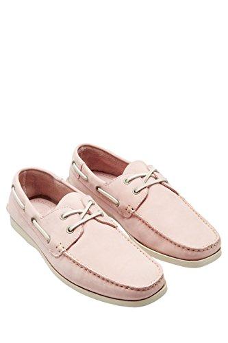 next Chaussures Bateau En Nubuck Standard Homme Rose