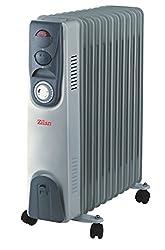 Öl Radiator 9 Rippen | Radiator Heizung | Elektroheizung | Heizkörper | Heater | Öl-Radiator | Ölradiator | Heizgerät | Paneelheizkörper | elektrische Mini Heizung | Überhitzungsschutz | 2.000 Watt