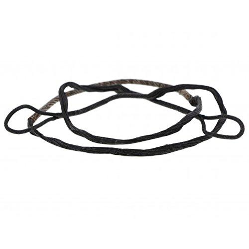 ETU24® Sehne Ersatzsehne 80 lbs 150 lbs 175 lbs für Armbrust mit Endkappen Armbrustsehne Direktversand aus Deutschland (175 lbs)