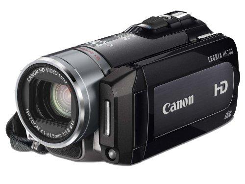 Canon LEGRIA HF200 HD-Camcorder (SDHC/SD-Card, 15-fach opt. Zoom, Bildstabilisator) grau - Camcorder Canon 200