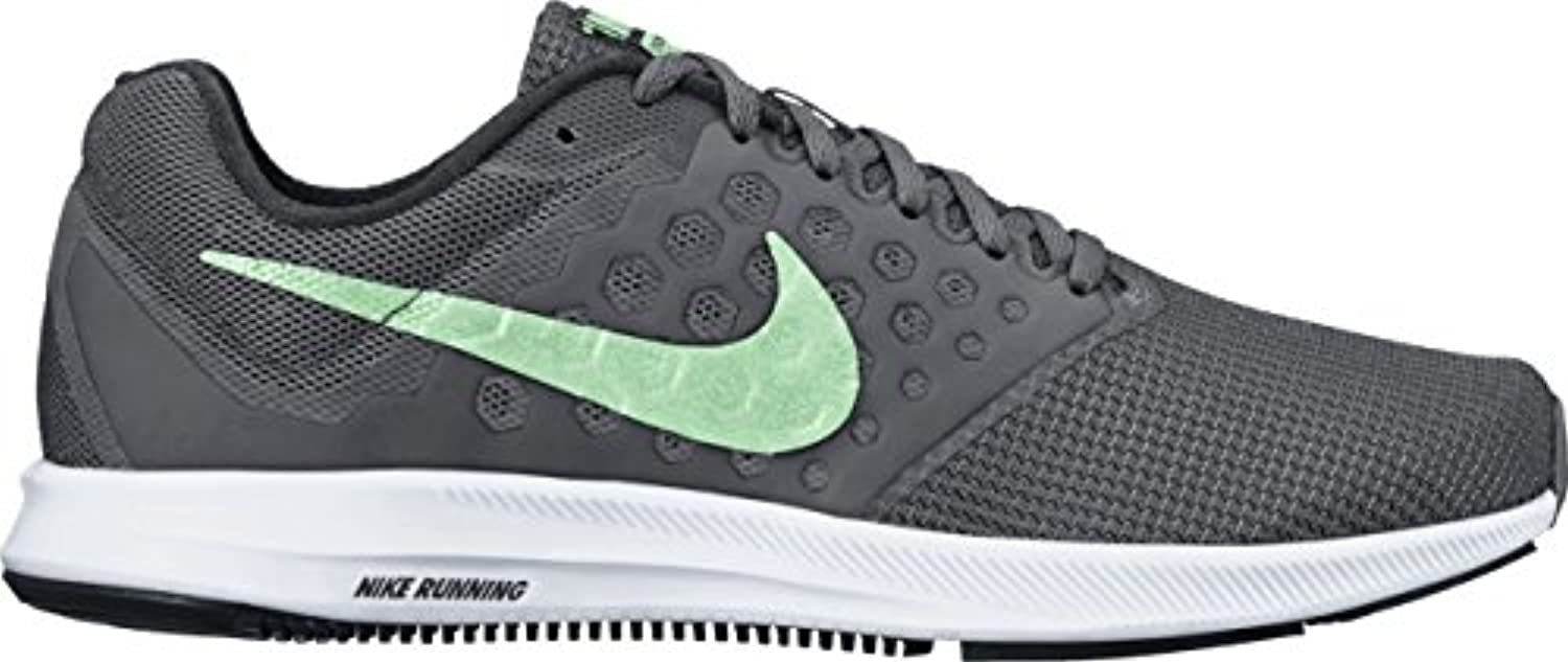 Nike Wmns Nike Downshifter 7 – Anthracite/Fresh Mint de Dark Gre, Multicolor, 11