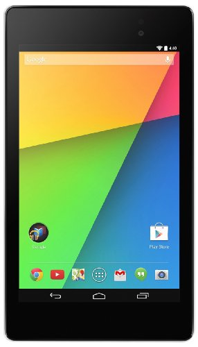 Asus Nexus 7 ASUS-1C035A 17,8 cm (7 Zoll) Tablet-PC (Snapdragen S4 Pro 8064, 1,5GHz, 2GB RAM, 16GB HDD, Adreno 320, Android OS, WiFi) weiß – Modell 2013 (Nexus Tablet Asus 7)