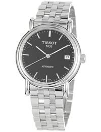 Tissot T95.1.483.51 - Reloj analógico para hombre, correa de acero inoxidable color plateado