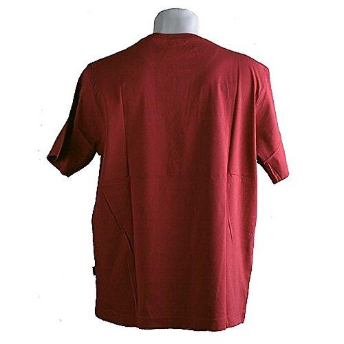 Kitaro, kurzarm Shirt T-Shirt, 192511, red [3387] Red