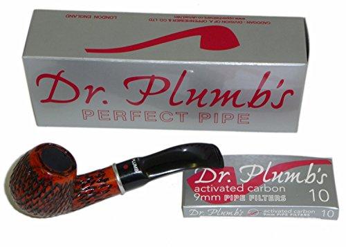 dr-plumb-piccola-9-mm-briar-pipe-carved-finish-4518-intagliato-10-filtri-inclusi
