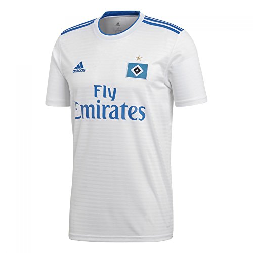adidas Jungen Hamburger SV Home Kurzarm Trikot, White/HSV Blue, 152