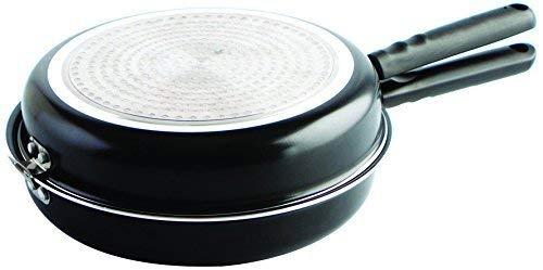 MGE World - Doble Sartén Voltea Tortillas - Vitro-Inducción - Diámetro 24 cm -