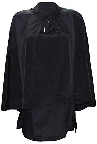 �ck Cut-out Cape Kleid (X-Large (EU Size:42)) (Cut Out Zurück Kleid)