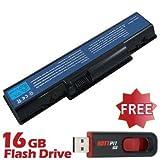 BattPit Notebook Akku für PACKARD BELL EasyNote TJ66 (4400 mah) bei kostenlosem 16GB Battpit USB-Stick