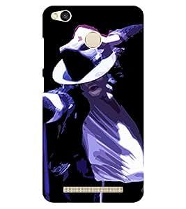 Chiraiyaa Designer Printed Premium Back Cover Case for Xiaomi Redmi 3S Prime (michael jackson dance sing perform) (Multicolor)