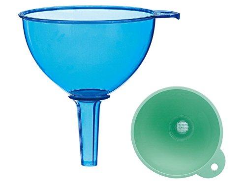 Cosmoplast 8189600 entonnoirs, plastique, multicolore