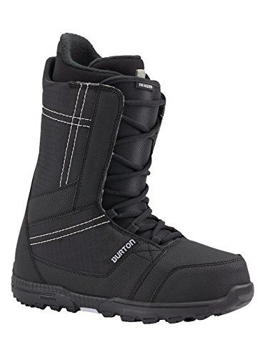 Burton invader scarponi snowboard, uomo, nero, 15