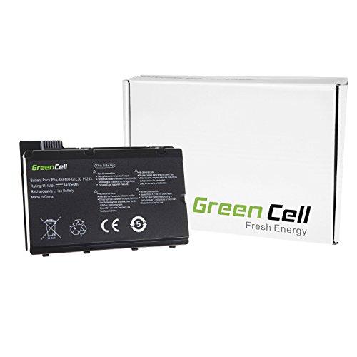 Green Cell® Standard Serie Batería para Fujitsu-Siemens Amilo Pi2530 Ordenador (6 Celdas 4400mAh 11.1V Negro)
