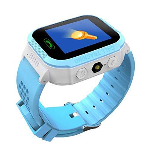 Elviray W16 Anti verlorenes Kind GPS Verfolger PAS, das intelligentes Telefon aufspürend, scherzt GPS-Uhr praktische kompatible (Kinder Für Uhr-verfolger)