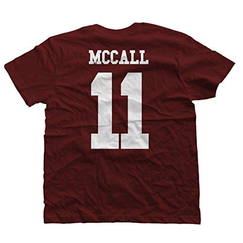 T Shirt Lacrosse Beacon Hills Stilinski McCall Serie TV kiarenzafd, TSBS_00004-L-McCall, McCall, Large
