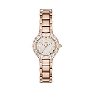 DKNY Reloj analogico para Mujer de Cuarzo con Correa en Acero Inoxidable NY2393 de DKNY