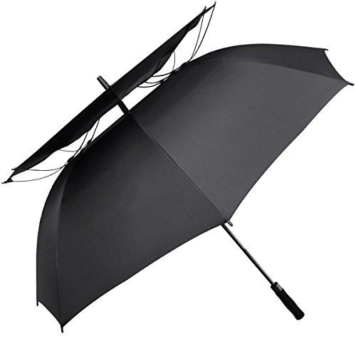 Paraguas de golf G4Free de 175 cm, con doble toldo...